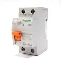 Диф. реле нагрузки (УЗО) 40А (ВД63 2п С 30мА) Schneider electric