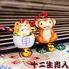 Японские талисманы богатства и удачи - подвеска брелок