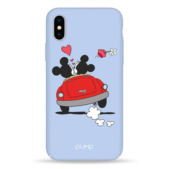 Pump Tender Touch Case чехол для iPhone X/XS Mickeys & Car