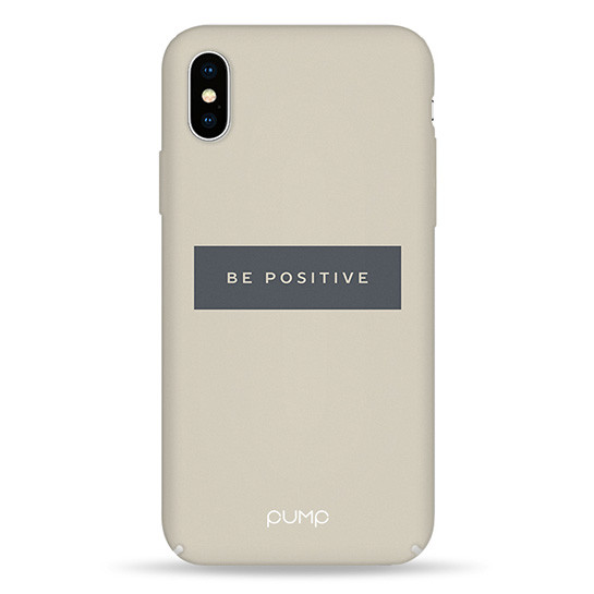 Pump Tender Touch Case чехол для iPhone X/XS Be Positive