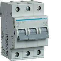 Автоматический выключатель 32 А, 3п, С, 6 kA, hager (Франция)