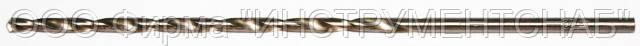 Сверло 8,0 мм, ц/х, супер дл. сер. (200х133 мм), HSS, класс В (Китай)