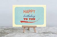 Открытка оригинальная С днем рождения,открытки ручной работы