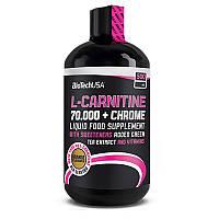 BioTech USA  L-Carnitine 70.000+Chrome  (500 ml)