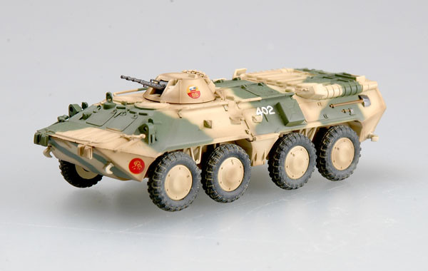 Коллекционная модель советского бронетранспортера БТР-80.1/72 EASY MODEL 35018