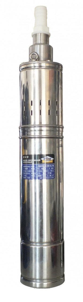 Погружной скважинный насос Werk 4QGD 1.2-50-0.37 (370Вт)