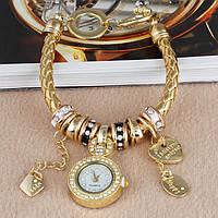 Часы-браслет в стиле Pandora Пандора Золото