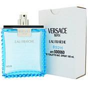 Мужская туалетная вода тестер Versace Man eau Fraiche (Версаче Мен О Фреш) духи Версаче мужские