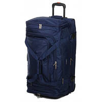 Дорожная сумка на колесах airtex 610 синяя