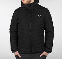 Очень теплая мужская зимняя куртка Puma Черный, XXL