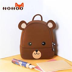 Детский Рюкзак NoHoo Мишка Тедди средний (NHB249)