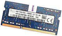 Оперативная память для ноутбука Hynix SODIMM DDR3L 4Gb 1600MHz 12800s CL11 (HMT451S6BFR8A-PB N0 AC) Б/У, фото 1