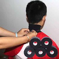 Воротник одноразовый парикмахерский, 5 шт черного цвета, фото 1