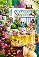 Пазл Сastorland на 1000 элементов Время чаепития у котят, фото 1