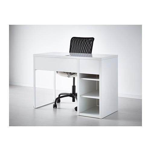 икеа микке письменный стол белый 2 988 грн компьютерные столы