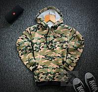 Худи утепленное на флисе military  / кофта зимняя, фото 1