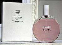 Женская туалетная вода тестер Chanel Chance Eau Tendre (Шанс О Тендр) ― прозрачный цветочно-фруктовый аромат!