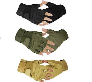 Тактические перчатки без пальцев реплика Oakley (Airsoft) военные, страйкбольные перчатки М