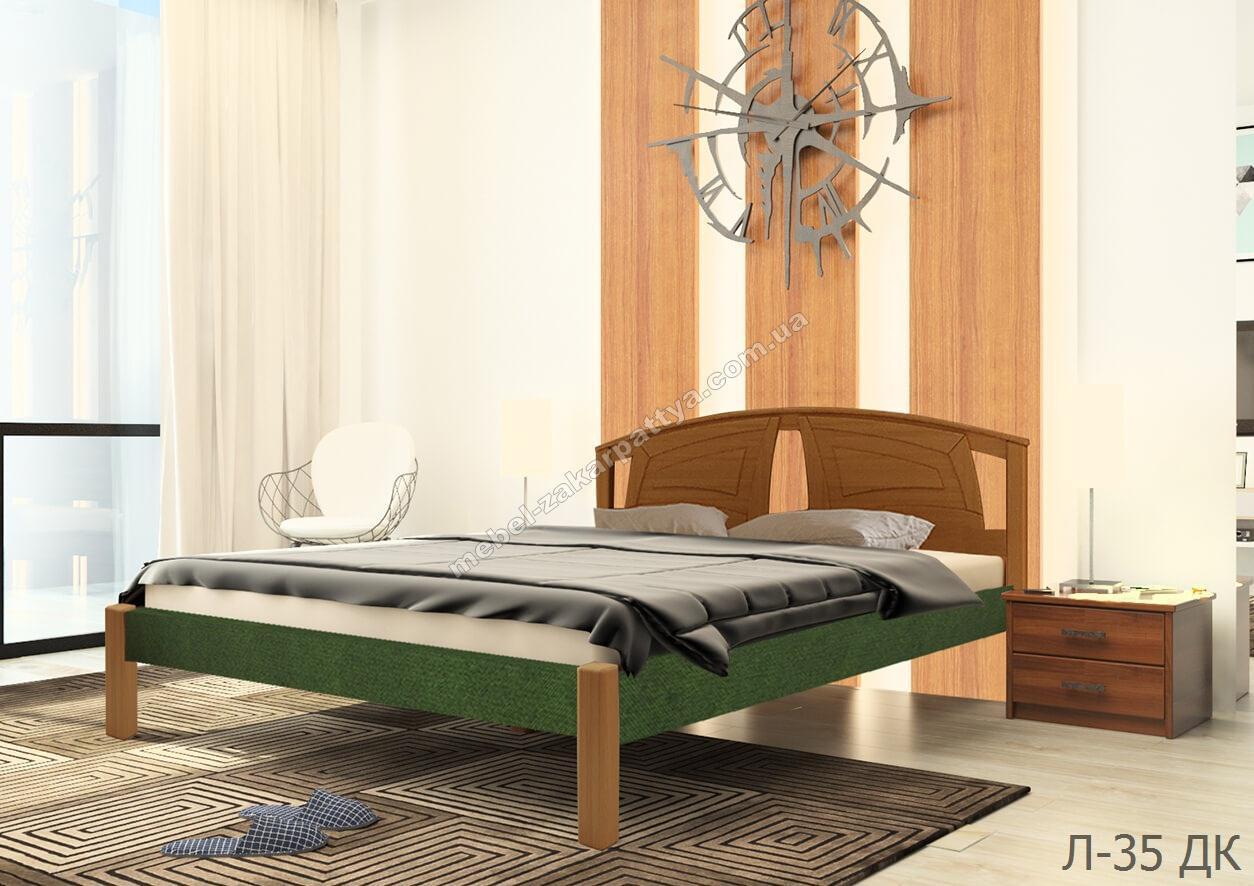 Кровать деревянная Л-35 ДК