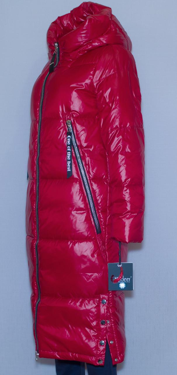 Куртка зимова жіноча довга  Visdeer 1962 XS