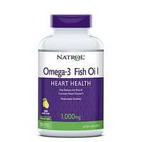 Рыбий Жир Омега-3 Natrol Omega-3 Fish Oil 150 капсул
