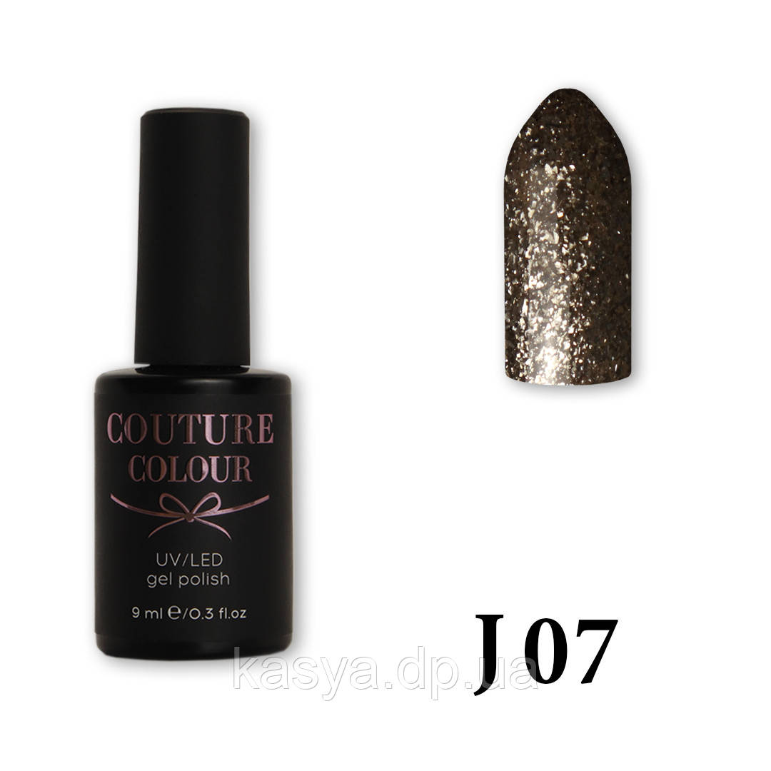 Гель-лак Couture Colour J-07, 9 мл