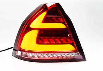 Фонари Chevrolet Aveo T250 / ZAZ Vida тюнинг Led оптика