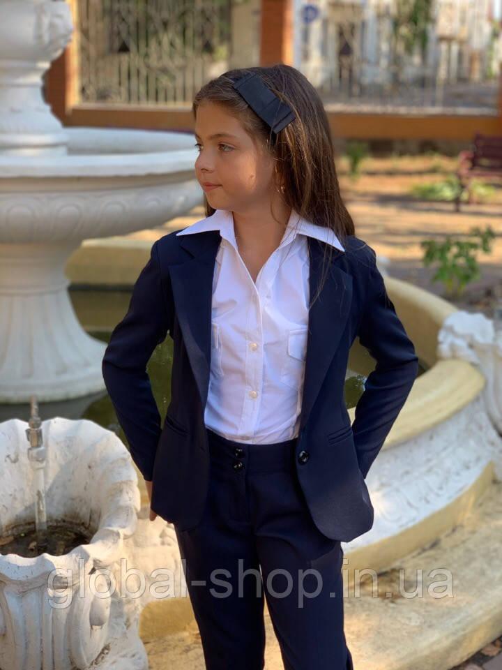Пиджак для девочки,пиджак в школу,122;128;134;140;146;152 см,, код 0702