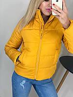 Куртка-бомбер  женская , осень