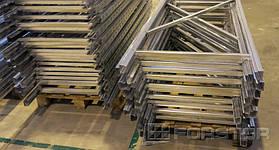 Складские полочные стеллажи с несущей способностью до 400 кг на полку