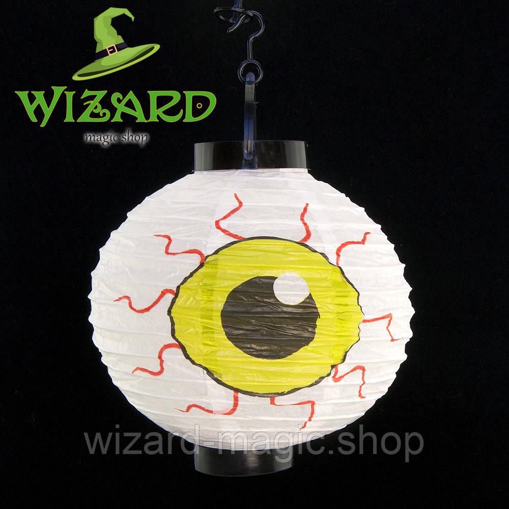 Джек-фонарь 20 см Глаз