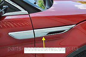 Range Rover Evoque хромовые накладки на крылья комплект