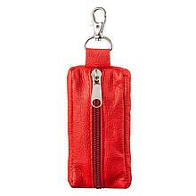 Яркая Ключница Из Натуральной Кожи Shvigel 13953, Красный