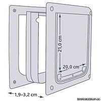 Дверца для собак (пластик), Trixie 2-Way Dog Flap XS–S (3877)