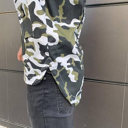 Куртка демисезонная Off White military , Камуфляж, Штормовка, РАСПРОДАЖА Размеры С и М, фото 3