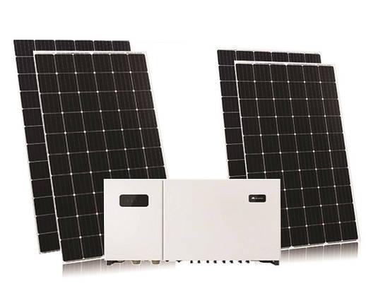 Комплект на 20кВт інвертор Huawei SUN2000 20 KTL + Risen 370 mono PERC, фото 2
