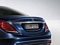 Mercedes S W222 W 222 сабля спойлер на багажник новый оригинал 2014+