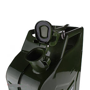 Канистра для бензина Дорожная карта LD-YG-L20 20л, фото 2