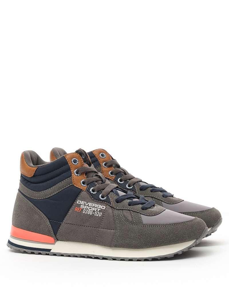 Оригинальные Ботинки Мужские DEVERGO DE-HI 4050 Brown