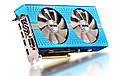 "Видеокарта Sapphire Radeon RX 580 8GD5 Special Edition METAL BLUE NITRO+ (11265-21-20G)  ""Over-Stock"" Б\У, фото 4"