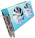 "Видеокарта Sapphire Radeon RX 580 8GD5 Special Edition METAL BLUE NITRO+ (11265-21-20G)  ""Over-Stock"" Б\У, фото 2"