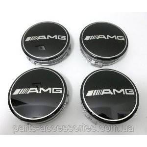 Mercedes колпачки в диски AMG комплект 4 штуки