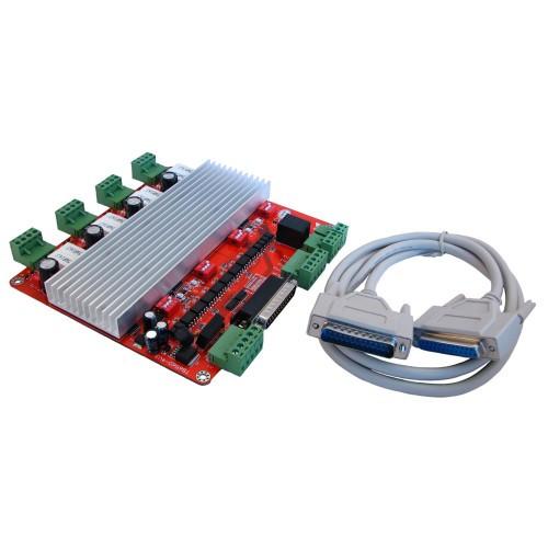 4-осевой контроллер шаговых двигателей ЧПУ TB6560