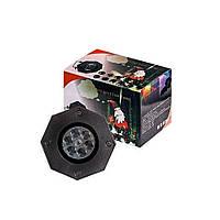 Лазерный проектор DIY с эффектом цветомузыки (11 кассет) (в ящике 32 шт).