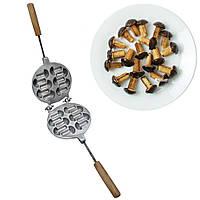Форма для випічки грибочків «Гвоздики» - 10 грибочків, фото 1