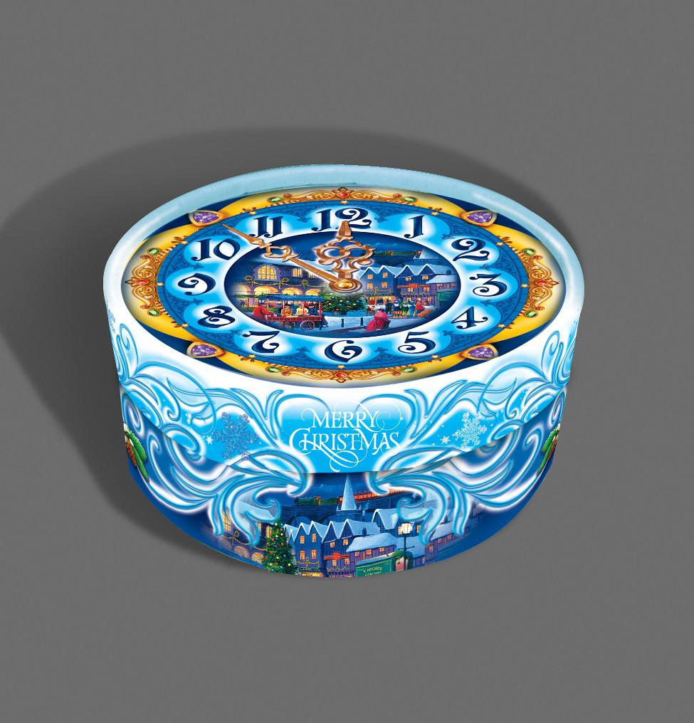 Подарочная картонная коробка ''Тубус'' 152*80 мм, 500 грамм