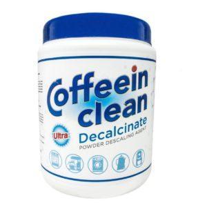 Профессиональное средство Coffeein clean Decalcinate ULTRA для очистки от накипи кофемашин 900г