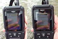 Ехолот бездротовий, трипроменевою Lucky FF718LiCD 3в1 російське меню,кольоровий дисплей, фото 6