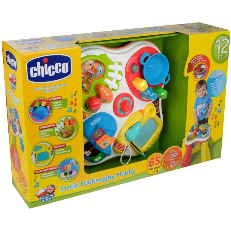 Развивающий Столик 2 в 1 Хобби (HOBBY) Chicco 76369