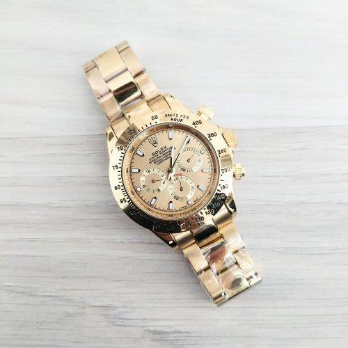 Брендовые наручные часы Rolex Daytona Gold реплика